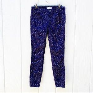 Madewell skinny corduroy pants size 24